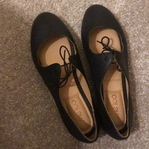 Cute black Mary Jane type shoes!